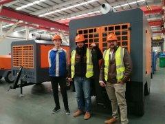 QATAR distributor air compressor training
