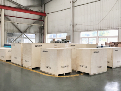 CE marked screw air compressors