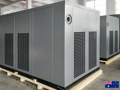 DENAIR Huge Rotary Screw Air Compressor For Australia Customer Factory