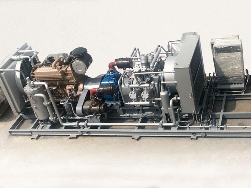 Enhance high pressure diesel mobile air compressor
