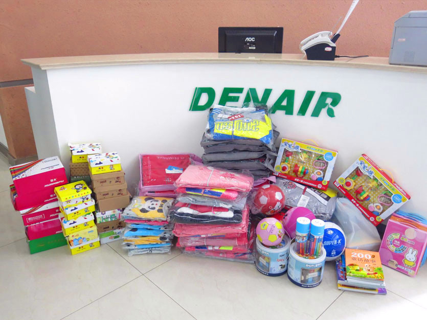 DENAIR Group has been doing loving care activity at welfare house