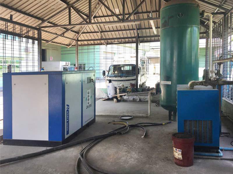 DENAIR air compressors in Myanmar