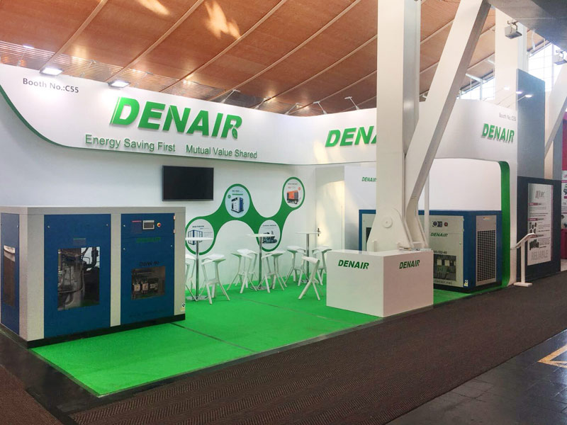 DENAIR 315KW dry type oil free compressor for Hanhua group