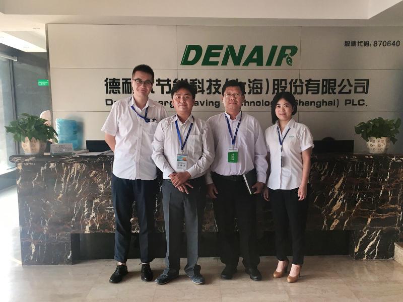 Myanmar cooperate visited DENAIR group