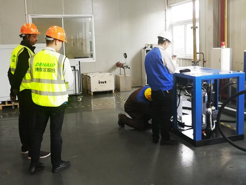 the biggest refrigerator factory visited DENAIR group